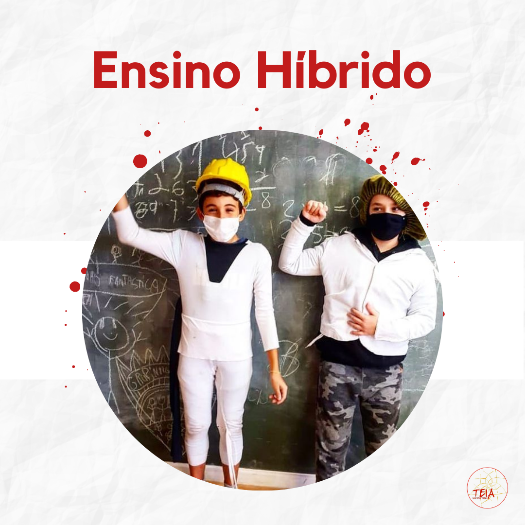 Read more about the article Ensino Híbrido